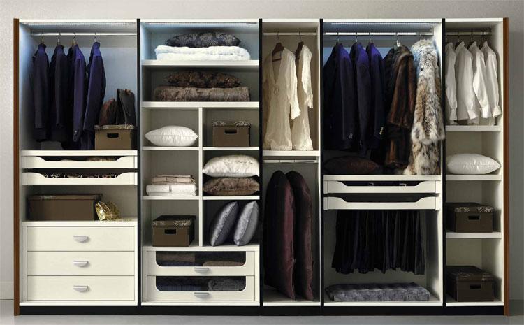 kleiderschrank schiebet r italien spiegel nussbaum furnier hochglanz qualit t ebay. Black Bedroom Furniture Sets. Home Design Ideas